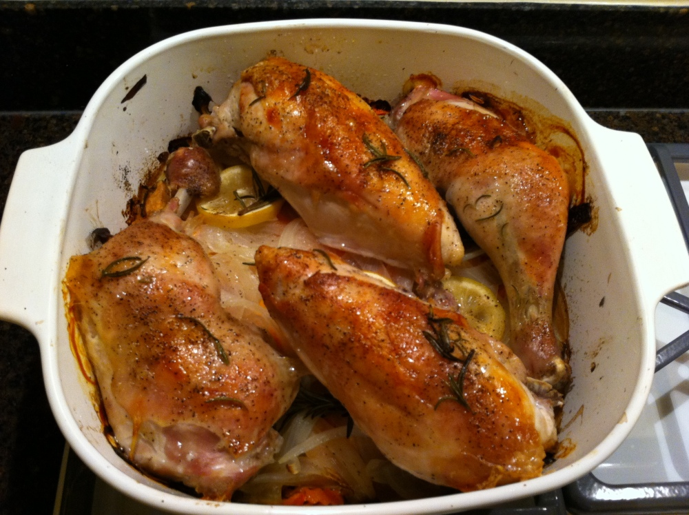 Aunt Pat's Chicken:  The Perfect Meal for Easy Entertaining (1/2)