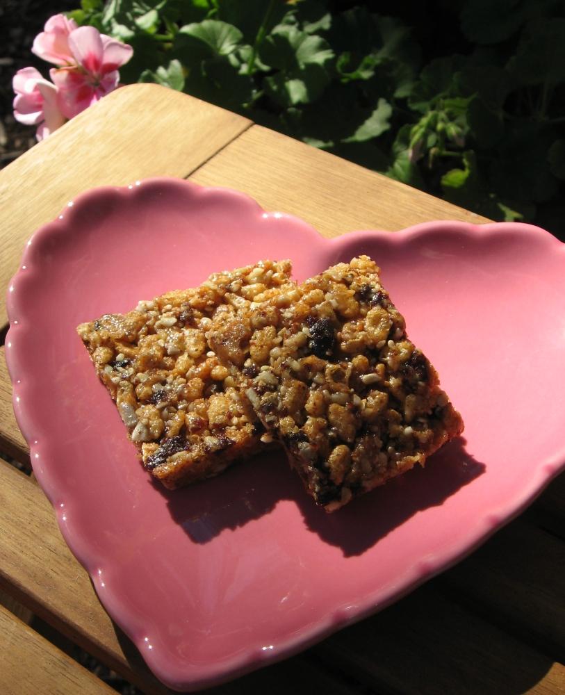 Heart-Healthy, Gluten-Free Snack Bars (1/2)