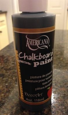 chalkboard paint pic