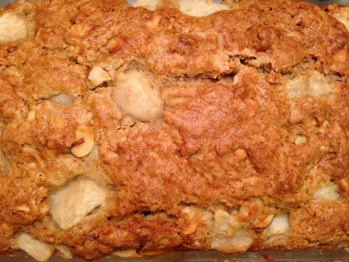 Pear Bread Close Up