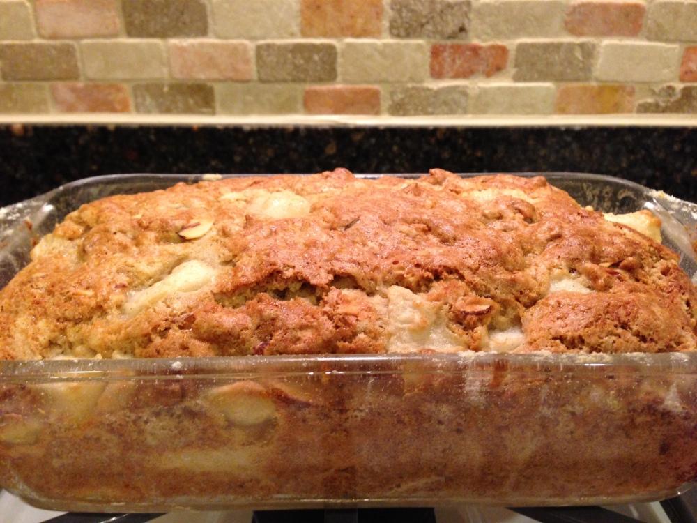 (Amazing) Gluten-Free Almond-Pear Bread (1/6)