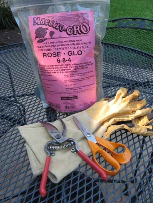 Tools for Pruning Roses