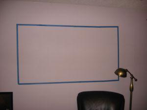 Painter's Tape Frame