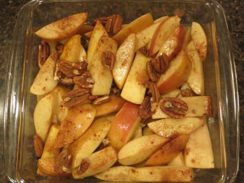 Baked Sliced Apples - AroundMiCasa