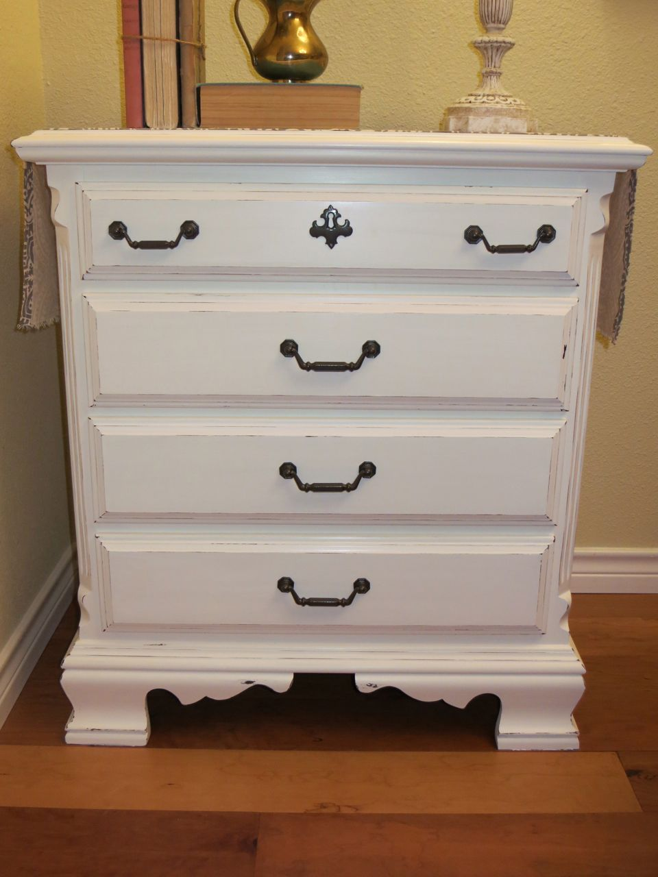 DIY Furniture Transformation with Homemade Chalk Paint ...